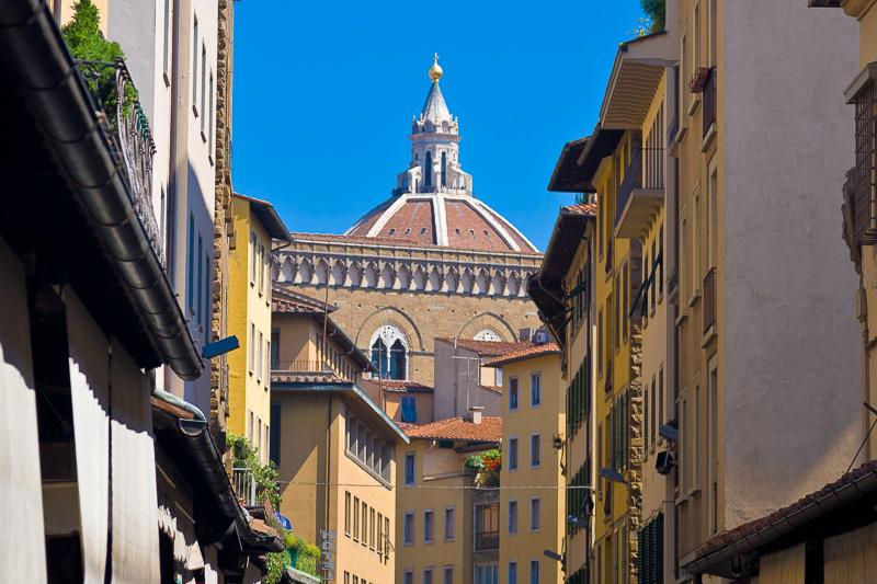 La cupola della cattedrale di Santa Maria del Fiore