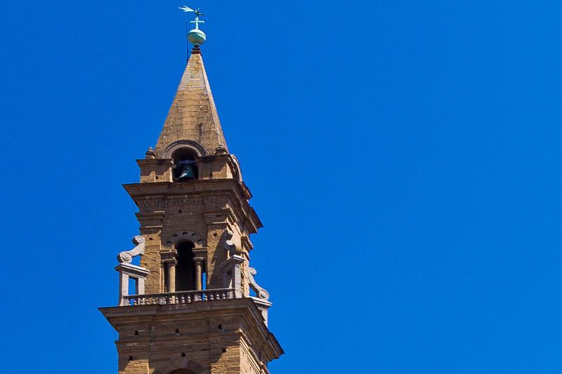 Il campanile della basilica di Santo Spirito