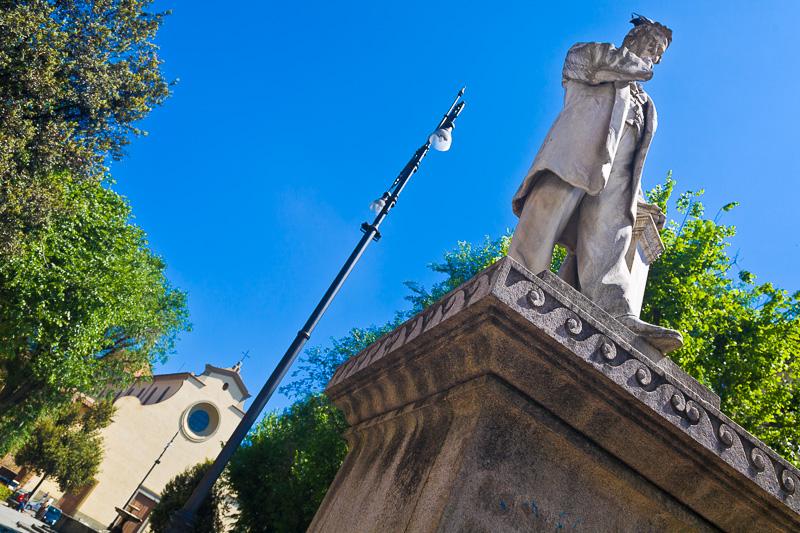 Il monumento all'agronomo Cosimo Ridolfi