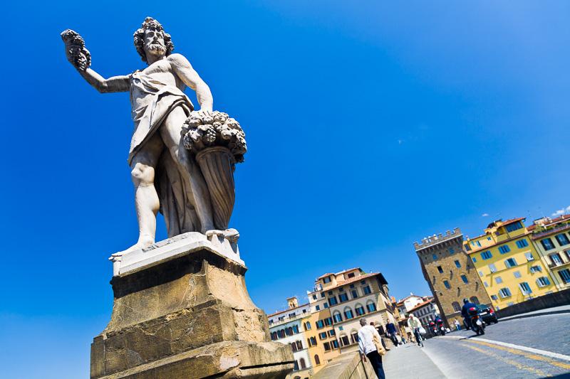 Statua raffifurante l'Autunno