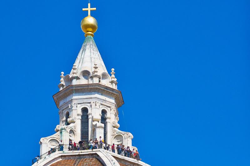 La lanterna della cupola del Breunelleschi