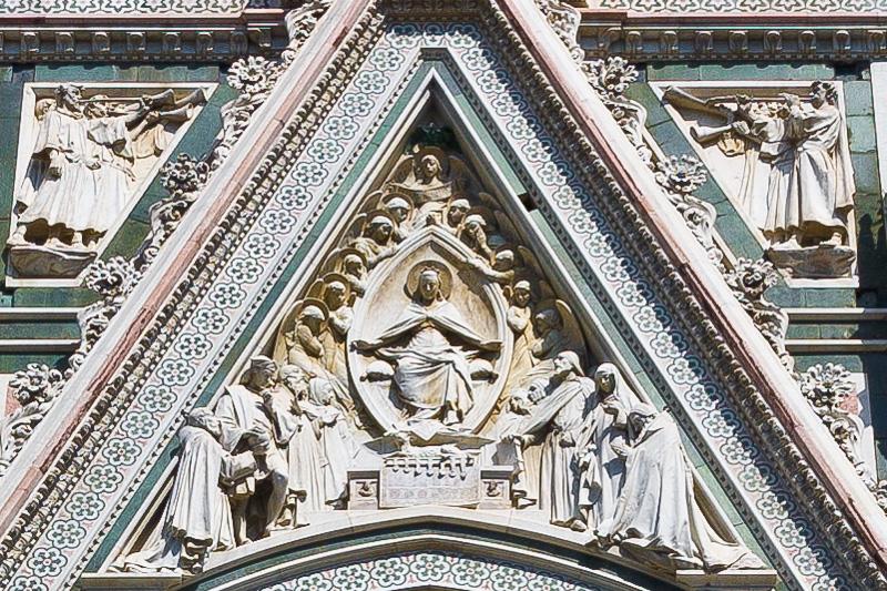 Il bassorilievo di Augusto Passaglia