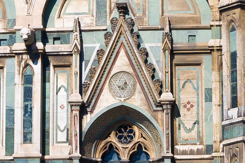 Una cuspide della cattedrale di Santa Maria del Fiore