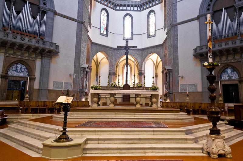 L'altare maggiore di Baccio Bandinelli