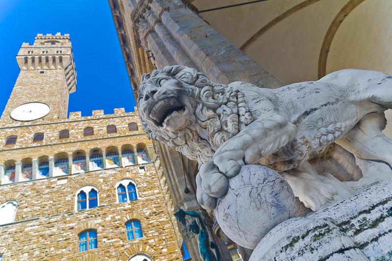 Il leone di Flamino Vacca