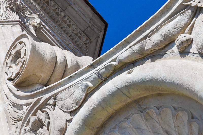Le volute della cupola del Breunelleschi