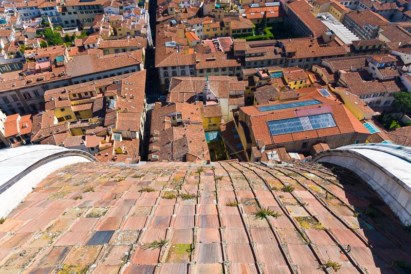 I costoloni della cupola del Brunelleschi