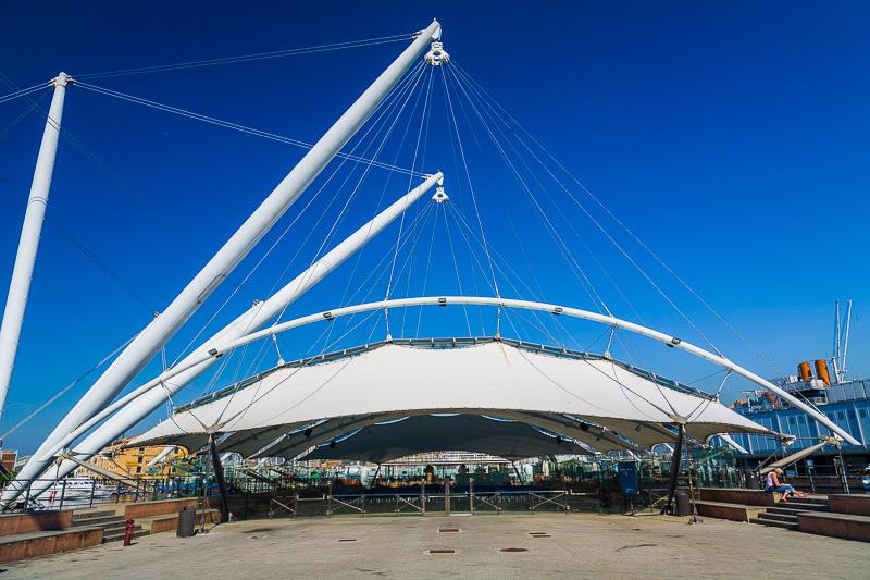 La pista di pattinaggio di Renzo Piano