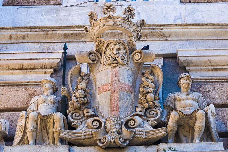 Lo stemma della città