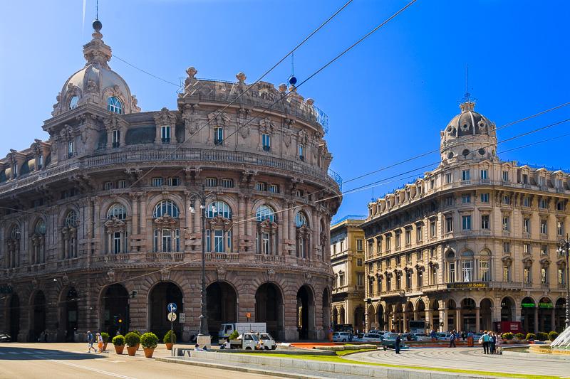 Il Palazzo del Credito Italiano e il Palazzo della Nuova Borsa