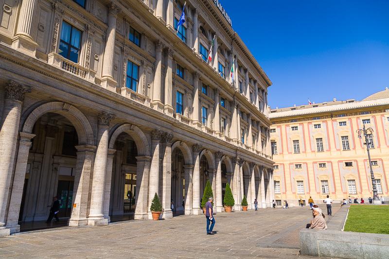 Il Palazzo della Società Italia di Navigazione