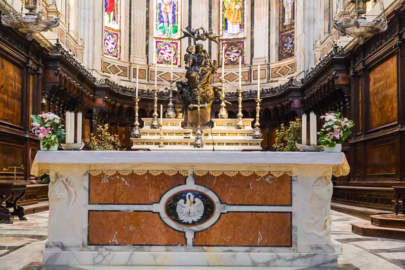 Altare maggiore della cattedrale di San Lorenzo