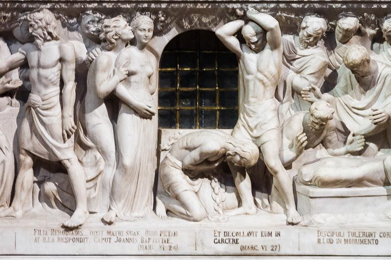 Scene della vita di San Giovanni Battista