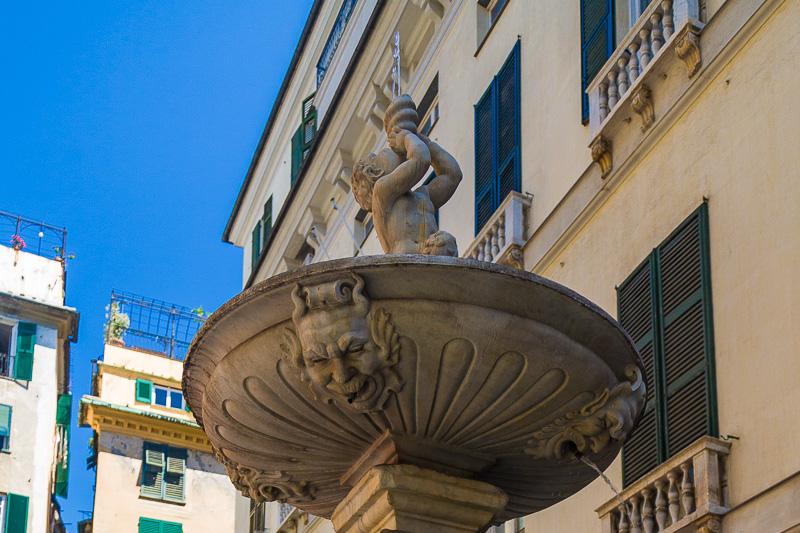 La fontana Barchile del Mazzetti