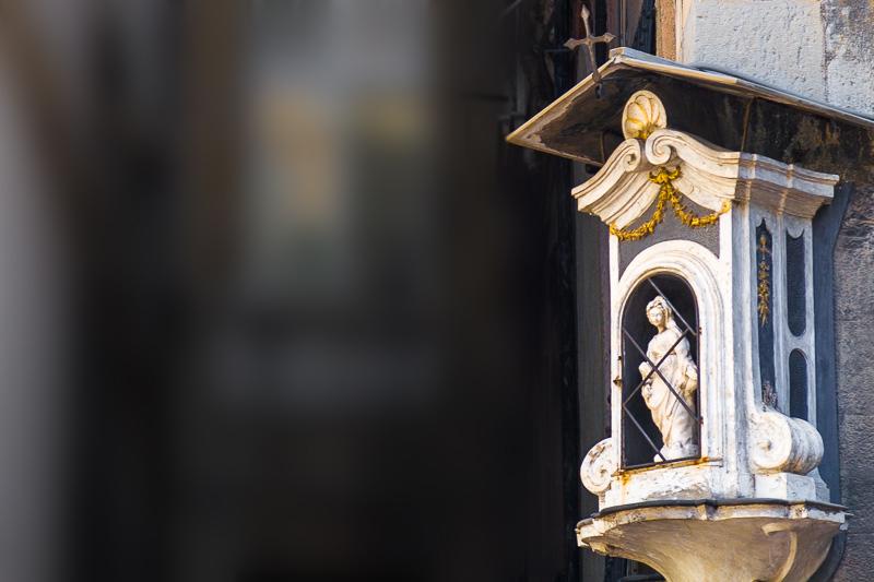 L'edicola votiva della Madonna