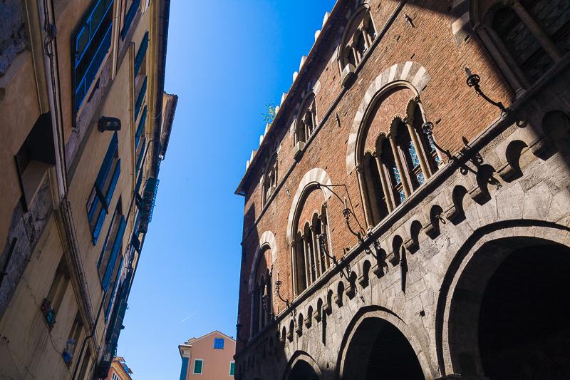 La Loggia dei Banchi di palazzo San Giorgio