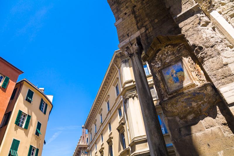 L'arco di Porta Soprana