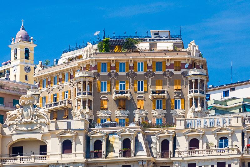 L'ex Hotel Miramare