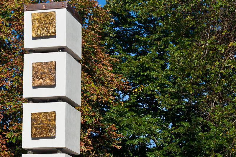 Il monumento dei Caduti di tutte le guerre