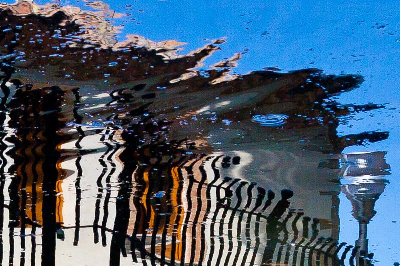 Un riflesso del laghetto