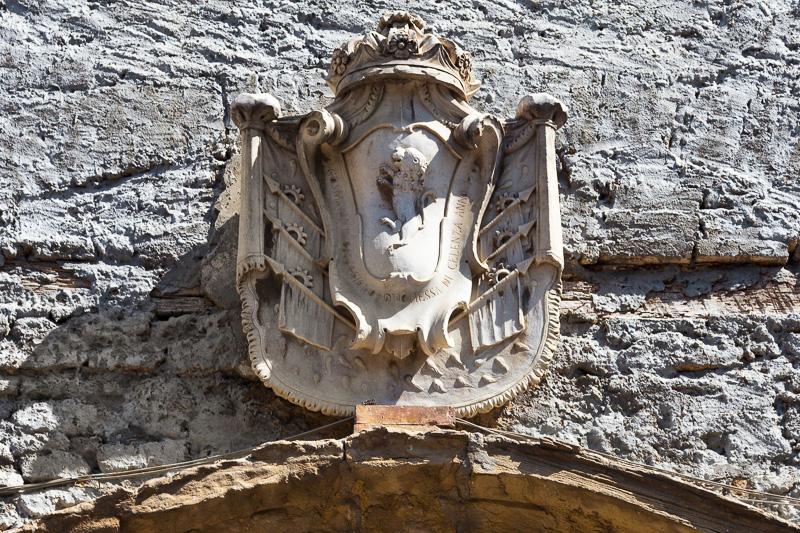 Stemma ducale di Cosima Antonia Caracciolo