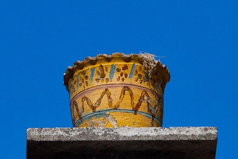 Un vaso giallo