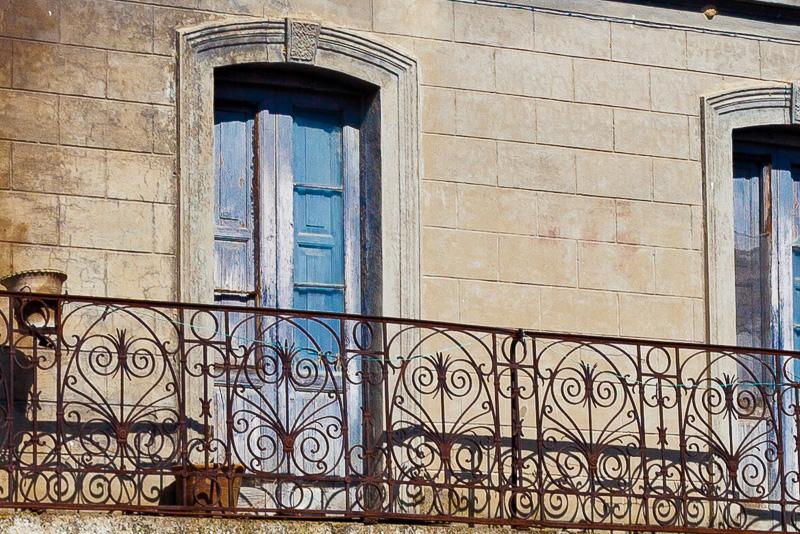 Un antico balcone