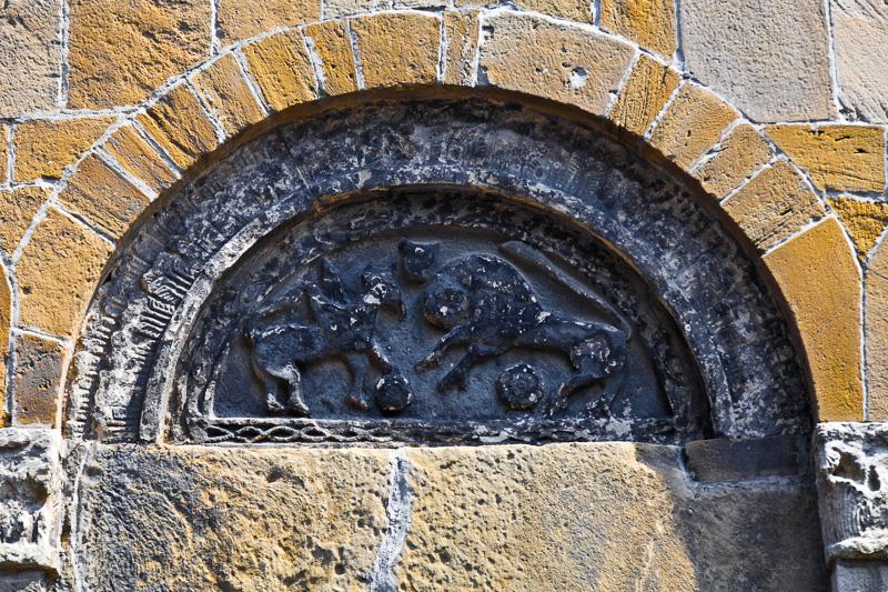 Lunetta della chiesa di San Nicola di Bari