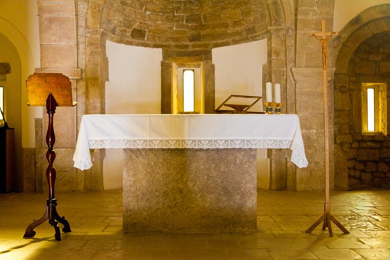 Il presbiterio della chiesa di San Nicola di Bari