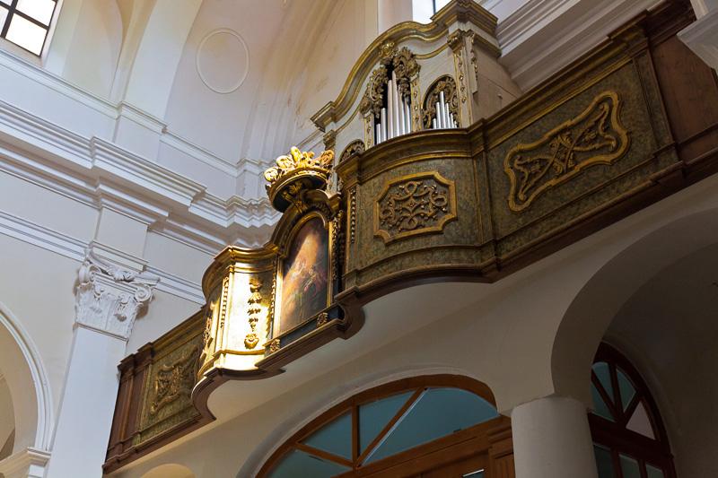 La cantoria della chiesa di Santa Maria Maggiore