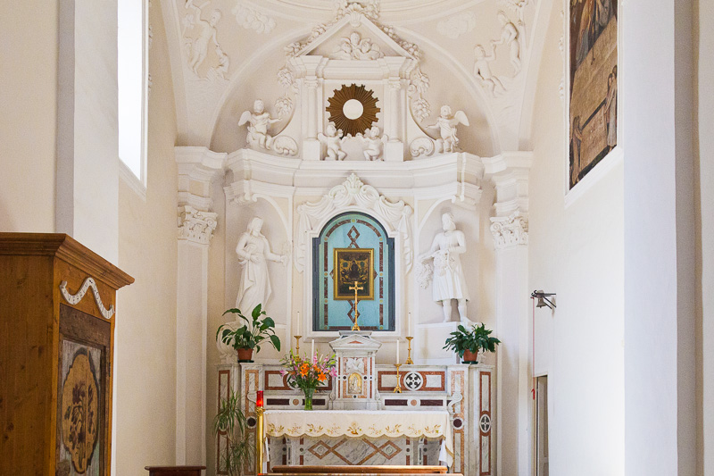 Una cappella della chiesa di Santa Maria Maggiore