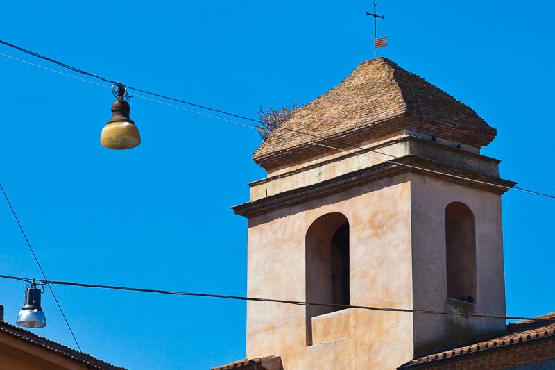 Il campanile della chiesa di San Felice Martire