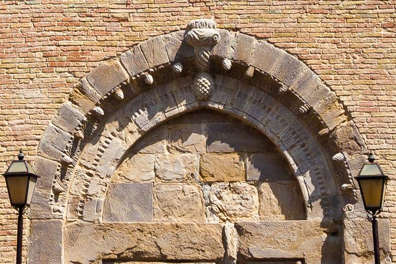 La lunetta della chiesa di Sant Antonio di Padova