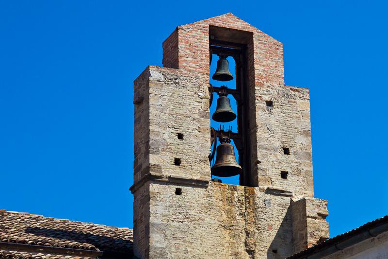 Il piccolo campanile della chiesa di Sant'Antonio di Padova