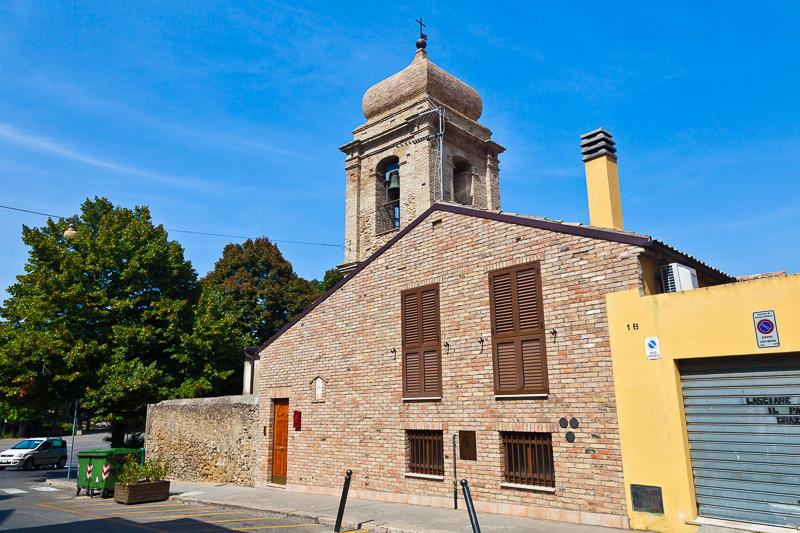La chiesa della Madonna del Santissimo Rosario