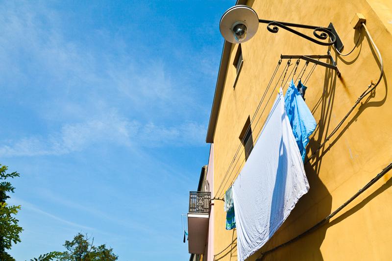 Un'abitazione di via Milano