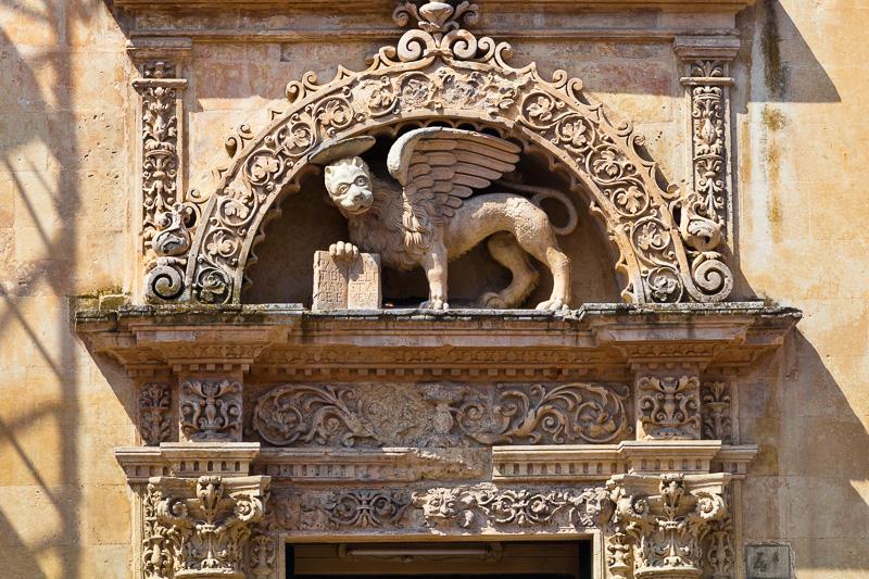 La lunetta della chiesetta di San Marco