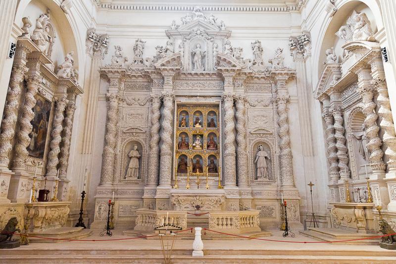 L'altare di Santa Irene