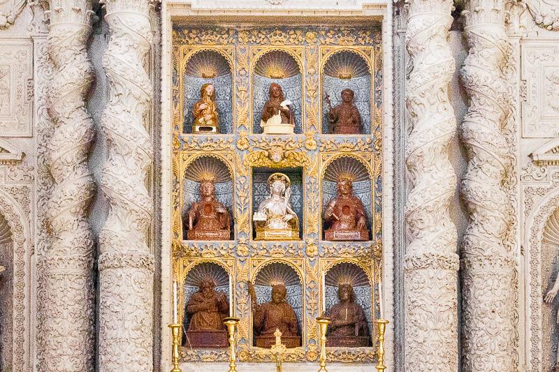 L'altare di Sant'Irene