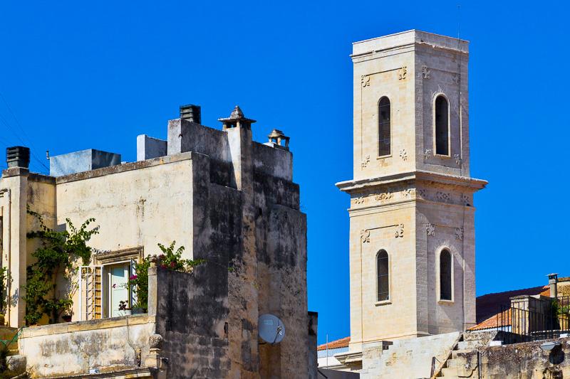 Il campanile della chiesa di Sant'Irene