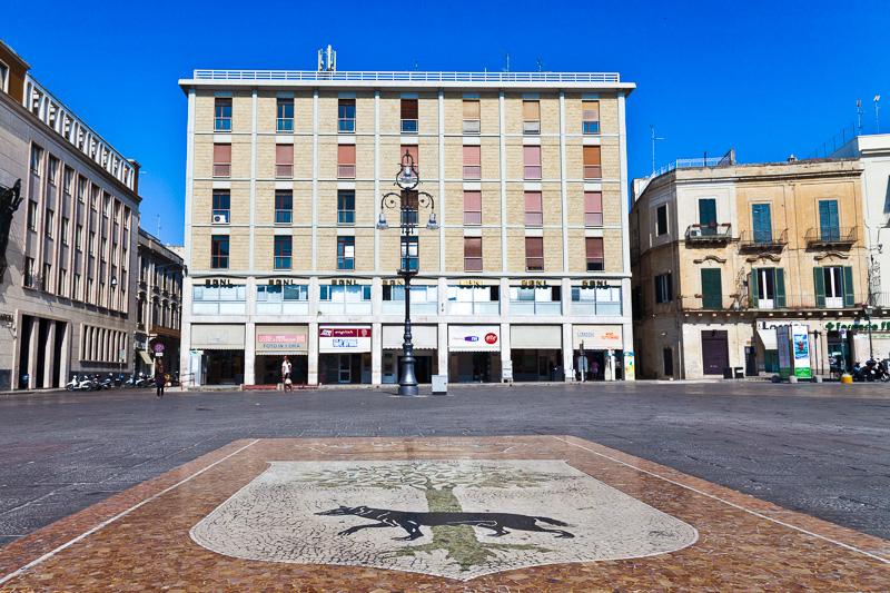 Lo stemma di Lecce