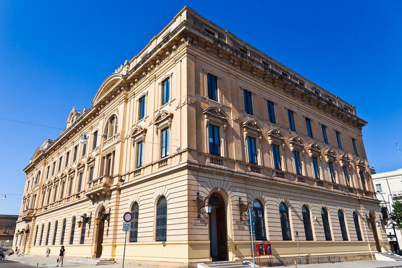 Il palazzo Poste
