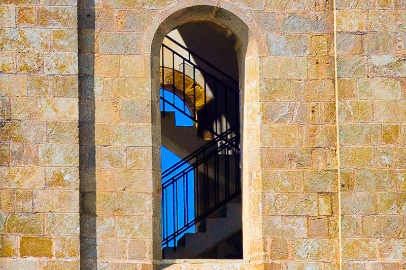 Una finestra del campanile