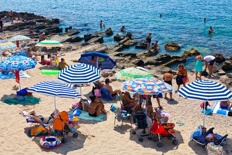 La spiaggia di marina di Leuca