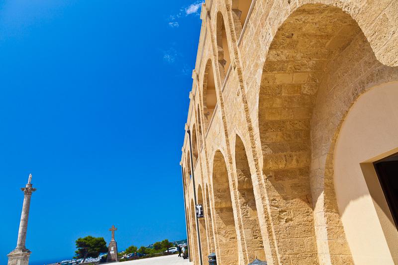 La basilica de Finibus Terrae