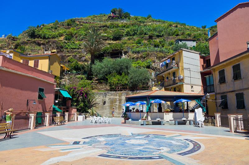 La piazza dedicata a Dario Capellini