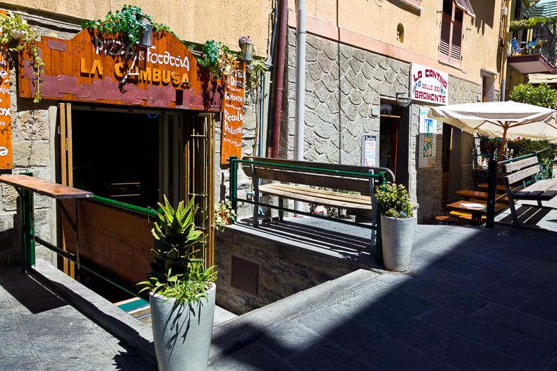 """La pizzeria """"La Cambusa"""""""