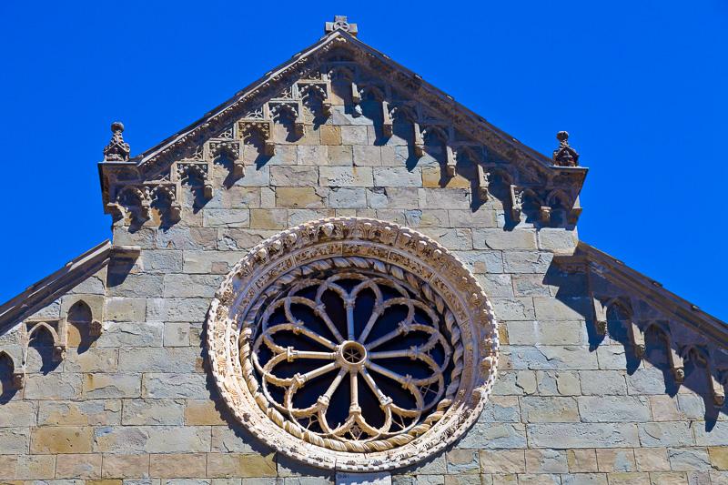 Il rosone della chiesa di San Lorenzo