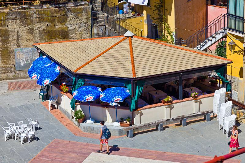 Gazebo in piazza Dario Capellini