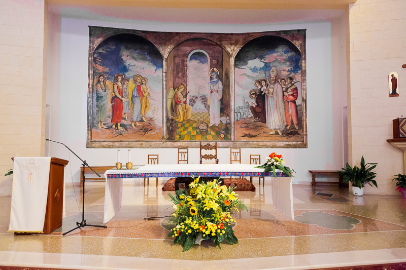 Altare della chiesa di Maria Ss. Annunziata